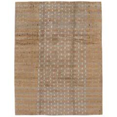 Modern Designed Tibetan Handmade Wool Rug