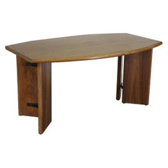 Modern Desk in Teak Wood, 20th Century