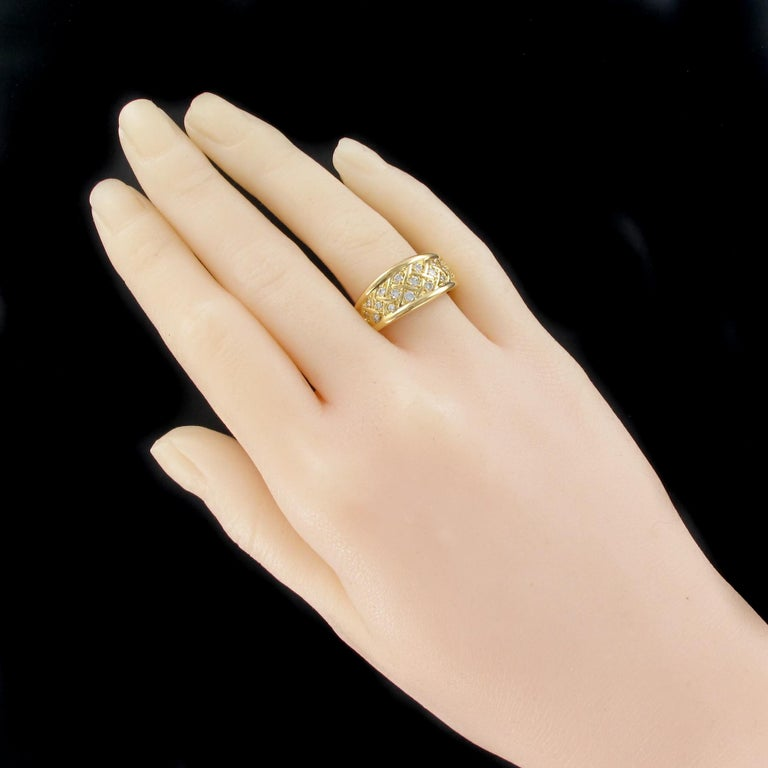 Ring In 18 Carats Yellow Gold Eagles Head Hallmark This Second Hand Gold