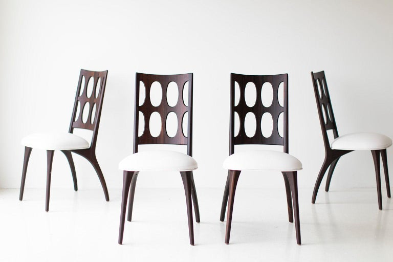 Modern Dining Chairs, 1901 for Craft Associates Furniture In New Condition For Sale In Oak Harbor, OH