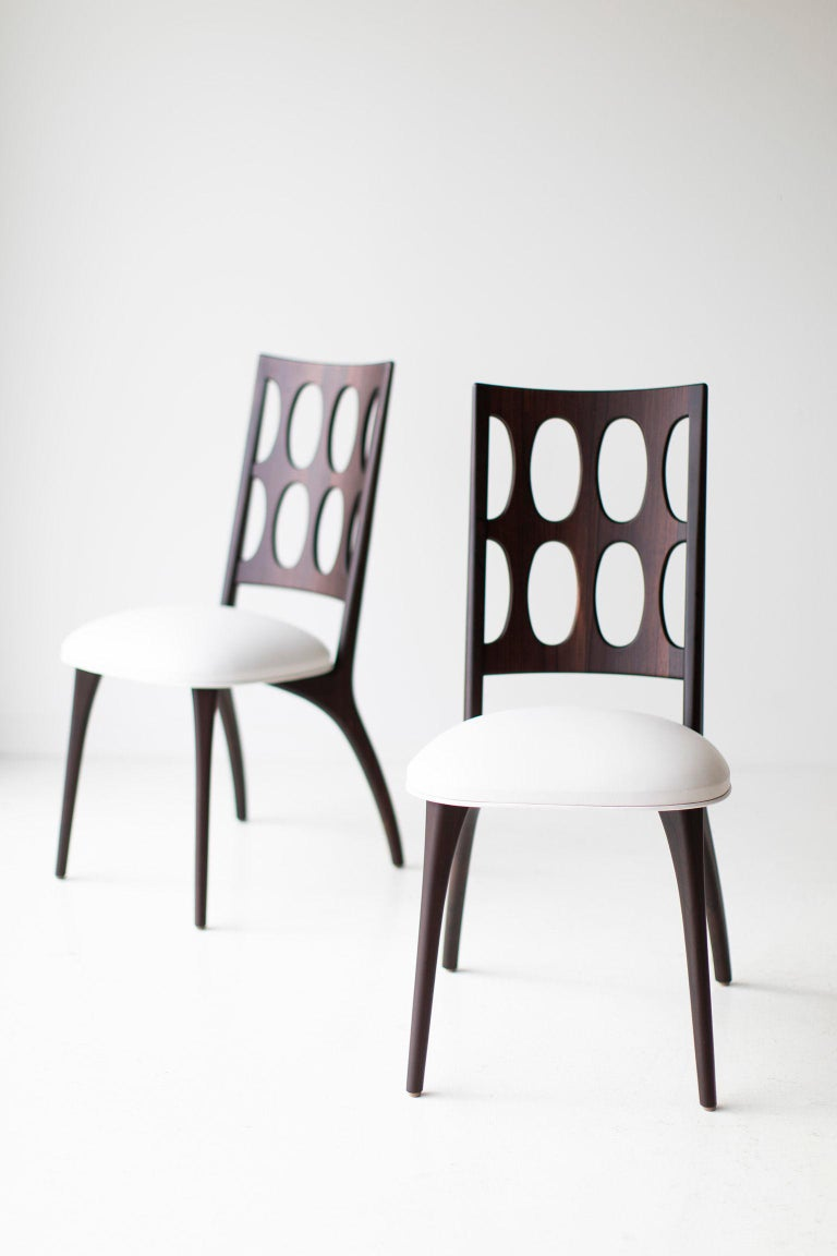 Modern Dining Chairs, 1901 for Craft Associates Furniture For Sale 1