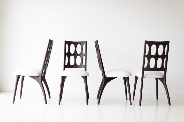 Modern Dining Chairs, 1901 for Craft Associates Furniture For Sale 2