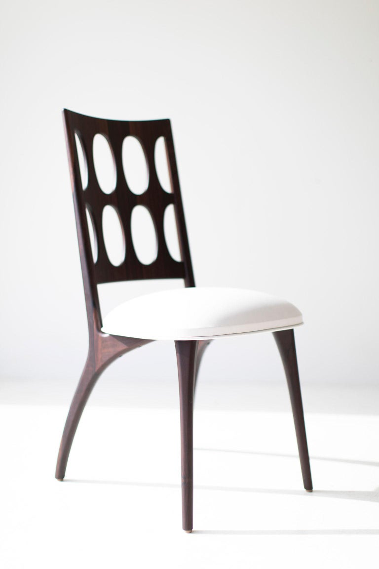 Modern Dining Chairs, 1901 for Craft Associates Furniture For Sale 3