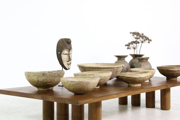 Modern Dining Room Table Solid Oak, Contemporary Nathan Lindberg Pedestal D For Sale 6