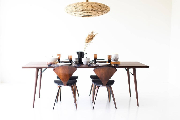 Mid-Century Modern Modern Dining Table,