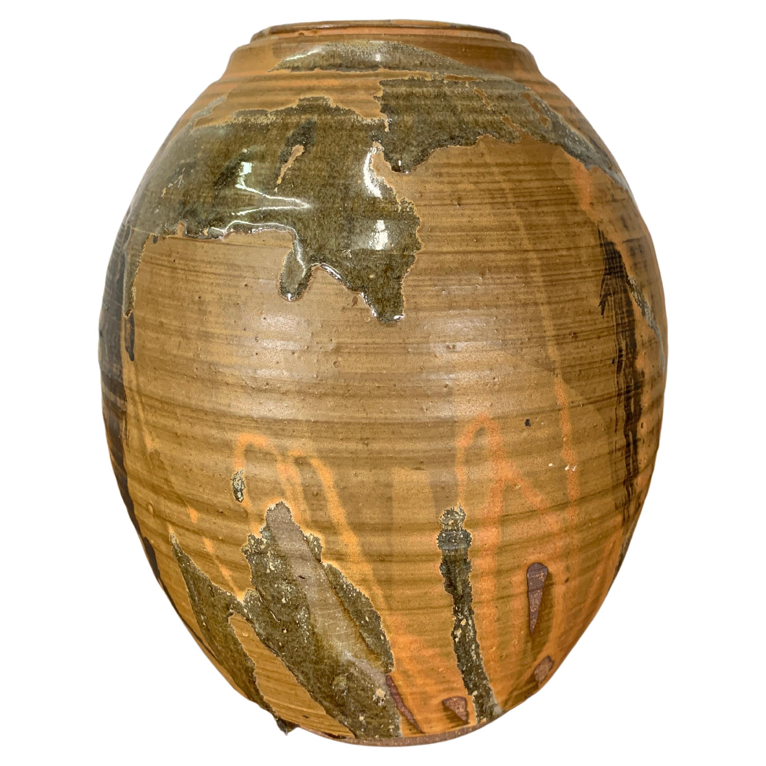 Modern Drip Glaze Vase