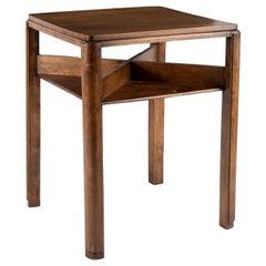 Modern Dutch Beech Side Table