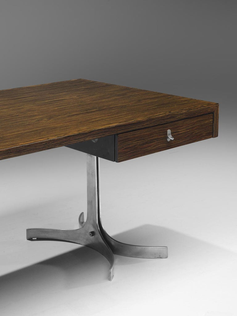 Late 20th Century Modern Executive Desk in Rosewood