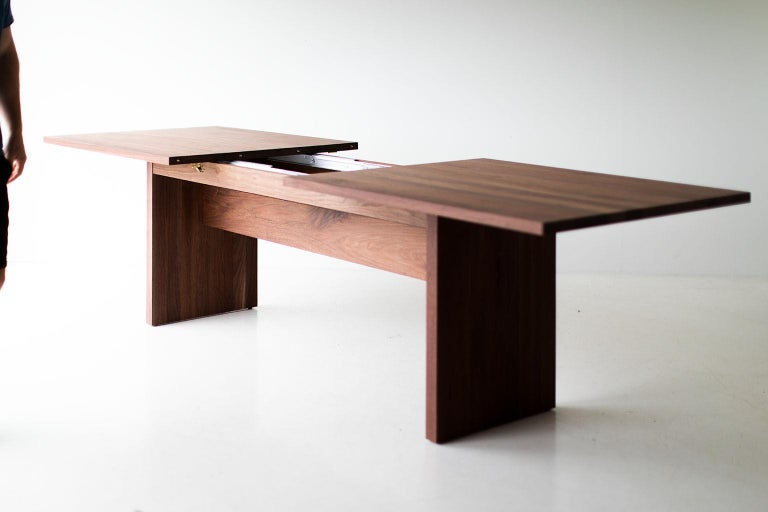Modern Extendable Dining Table For Sale 5