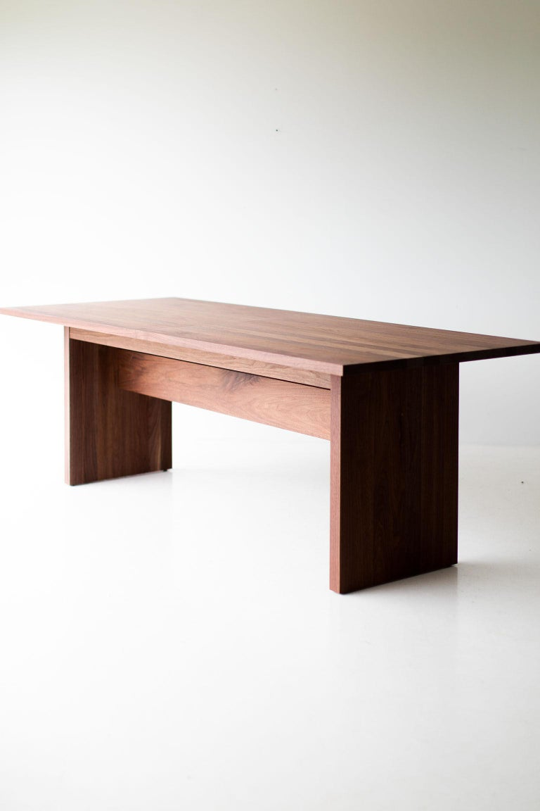 Modern Extendable Dining Table For Sale 7