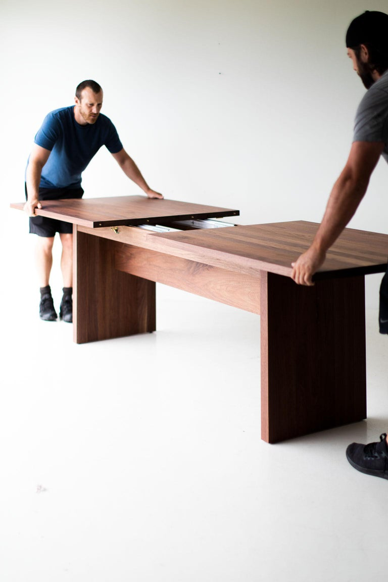 Modern Extendable Dining Table For Sale 2