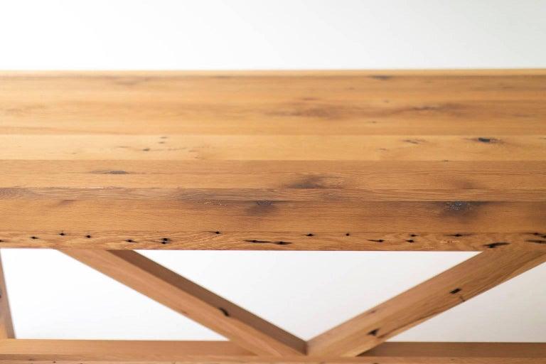 Modern Farmhouse Dining Table For Sale 4