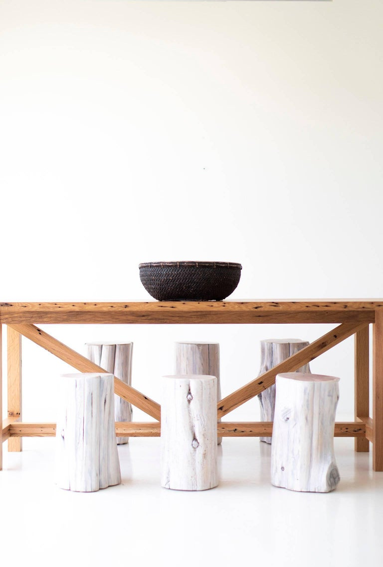 Modern Farmhouse Dining Table For Sale 6