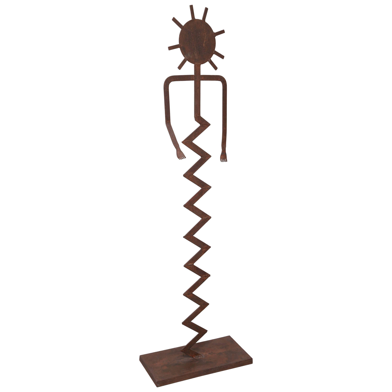 Modern Figural Iron Sculpture