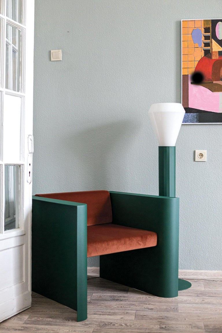 This floor lamp was created as a part of the