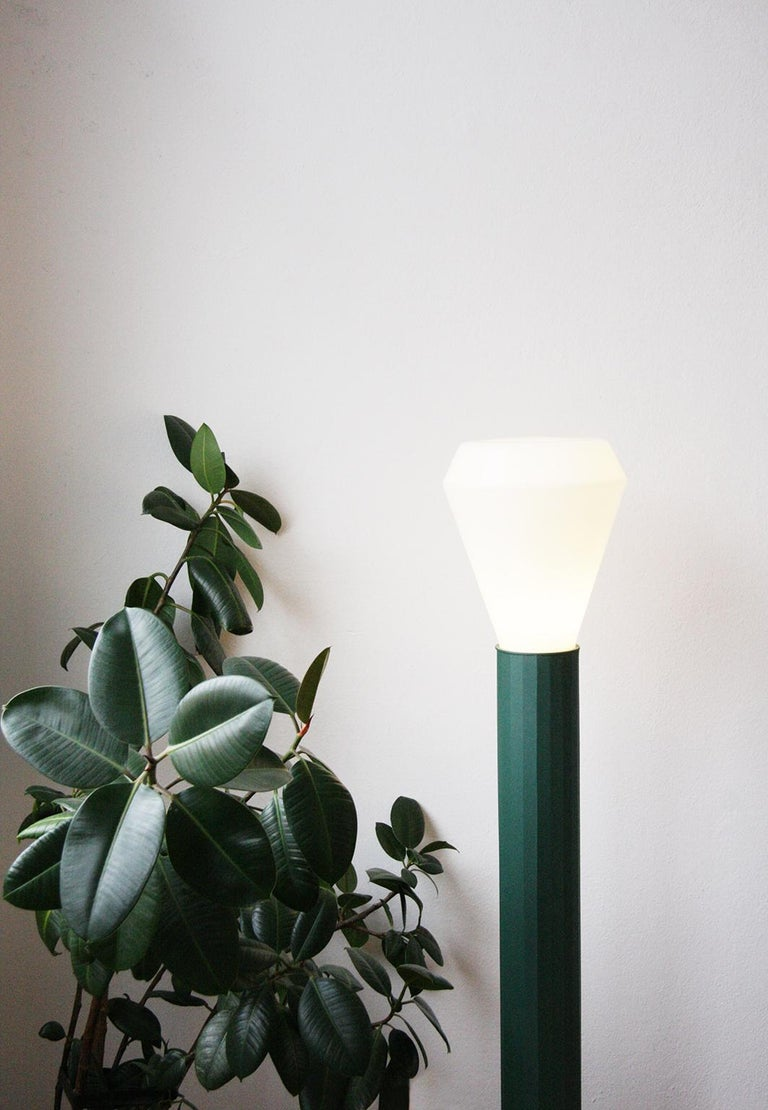 Hand-Crafted Modern Floor Lamp from