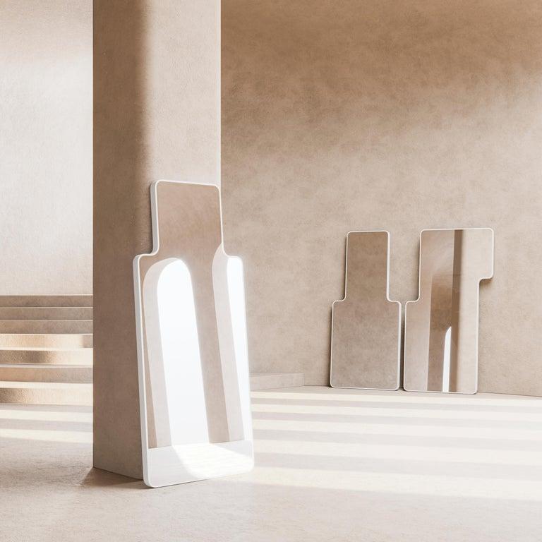 Contemporary Modern Floor Mirror,