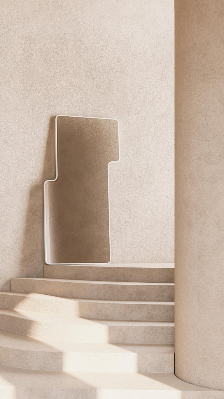 Modern Floor Mirror,