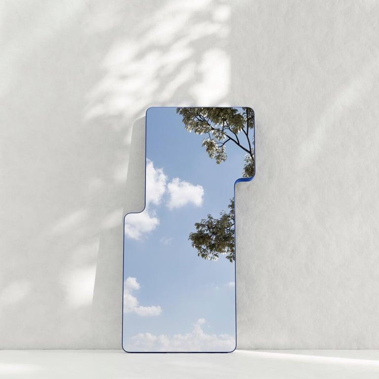Plywood Modern Floor Mirror,