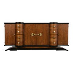 French Art Deco Lacquered Buffet