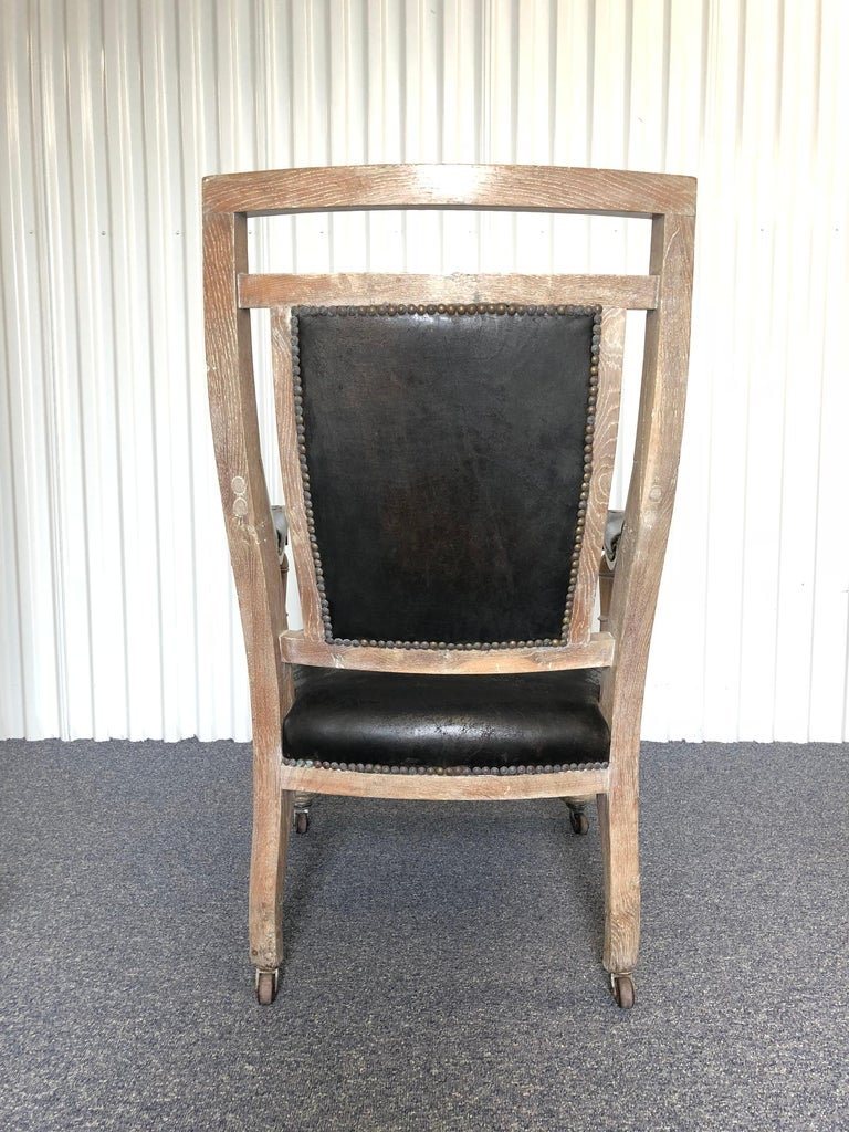 20th Century Modern French Empire Armchair For Sale