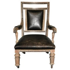 Modern French Empire Armchair