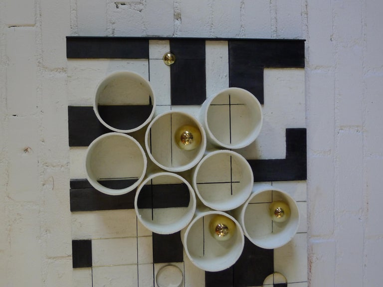 American Modern Frieze Three-Dimensional Wall Art by Paul Marra For Sale