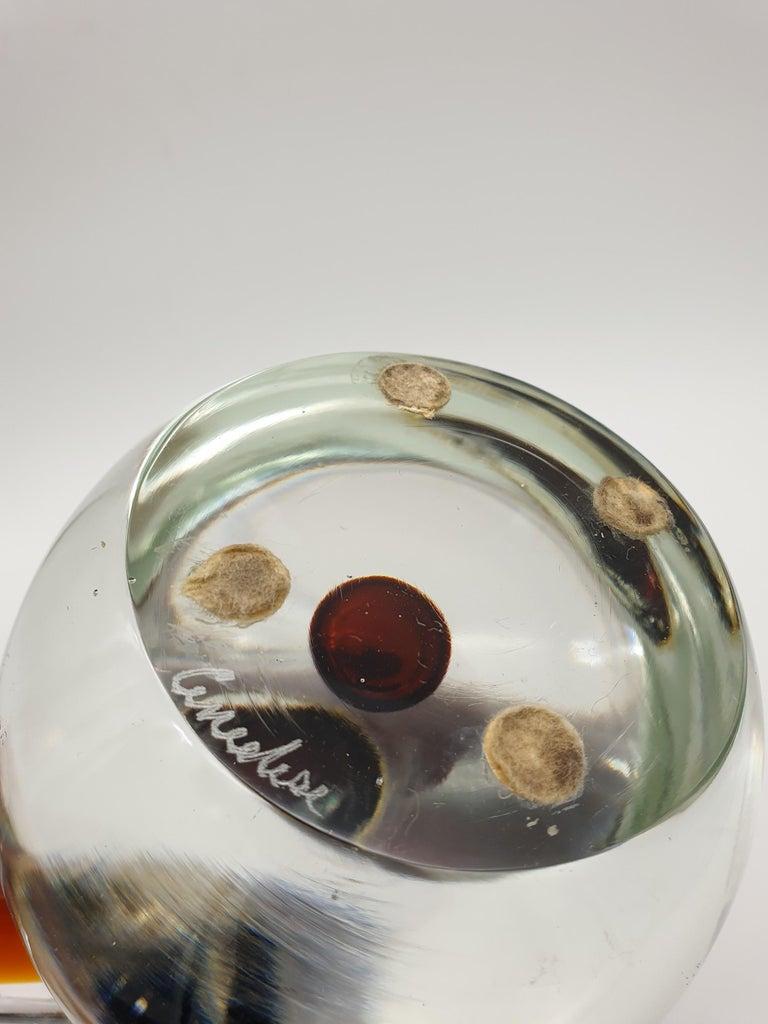Modern Futuristic Murano Glass Sculpture by Cenedese, circa 1970s For Sale 6