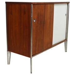 Modern Sophisticated 1950s Storage Cabinet by Raymond Loewy for Hill-Rom USA