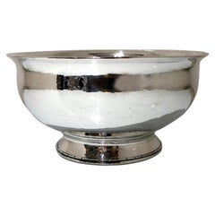 Modern George V Sterling Silver Bowl Birmingham 1928 Liberty & Co
