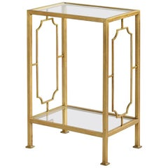 Modern Gilt Occasional Table