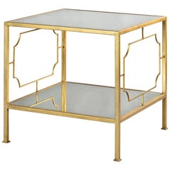 Modern Gilt Side Table