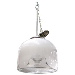 Modern Glass Dome Pendant Chandelier