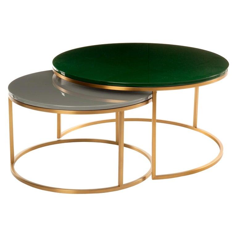 Modern Glossy Coffee Table, Pols Potten Studio For Sale