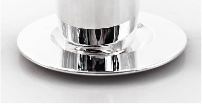 Modern Goblet and Tray In Excellent Condition For Sale In Brooklyn, NY
