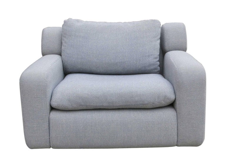 Postmodern grey and chrome