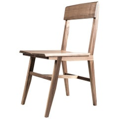 Modern Hardwood Rift Dining or Office Chair