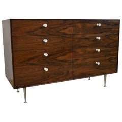 Modern Herman Miller Rosewood Thin Edge Eight-Drawer Chest George Nelson Design