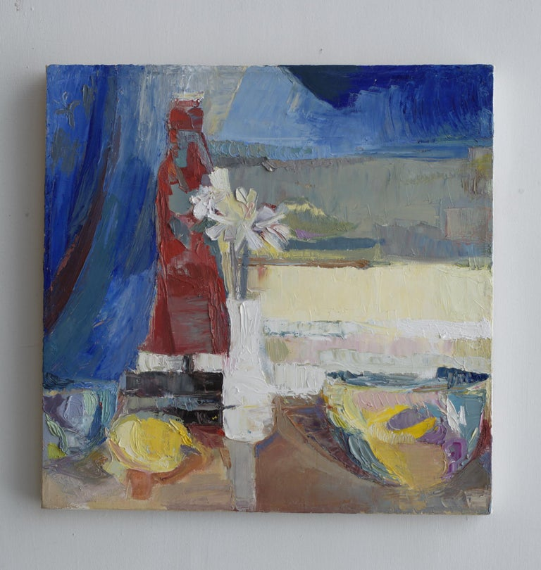 American Modern Impressionist Still Life Painting For Sale