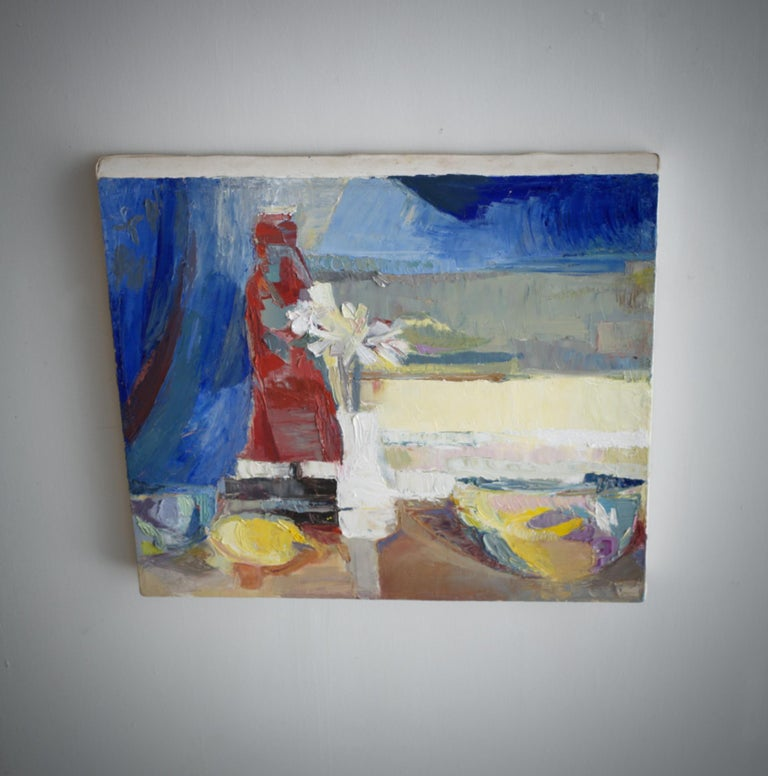 Modern Impressionist Still Life Painting For Sale 3