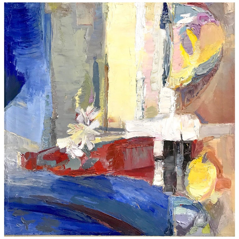 Modern Impressionist Still Life Painting For Sale