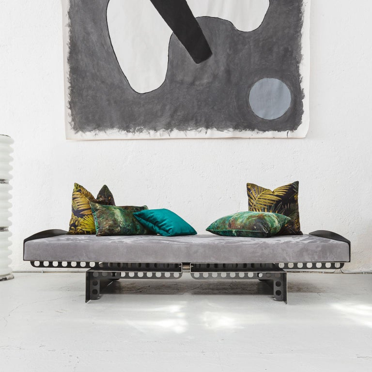 Italian Modern Industrial Style Day Bed Meccano | Spinzi Design  For Sale