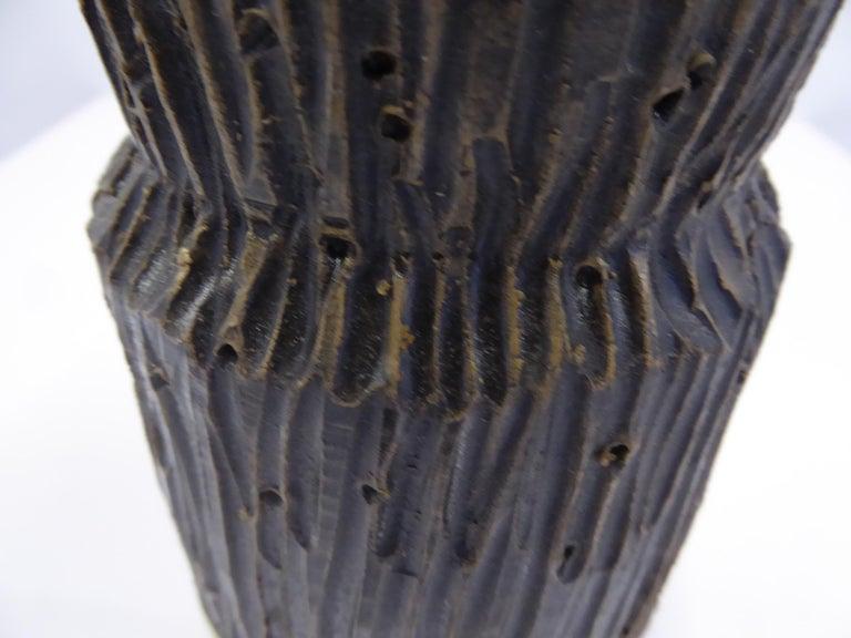 Modern Italian Ceramic Vase by Fratelli Fanciullacci Bitossi, 1960s For Sale 6