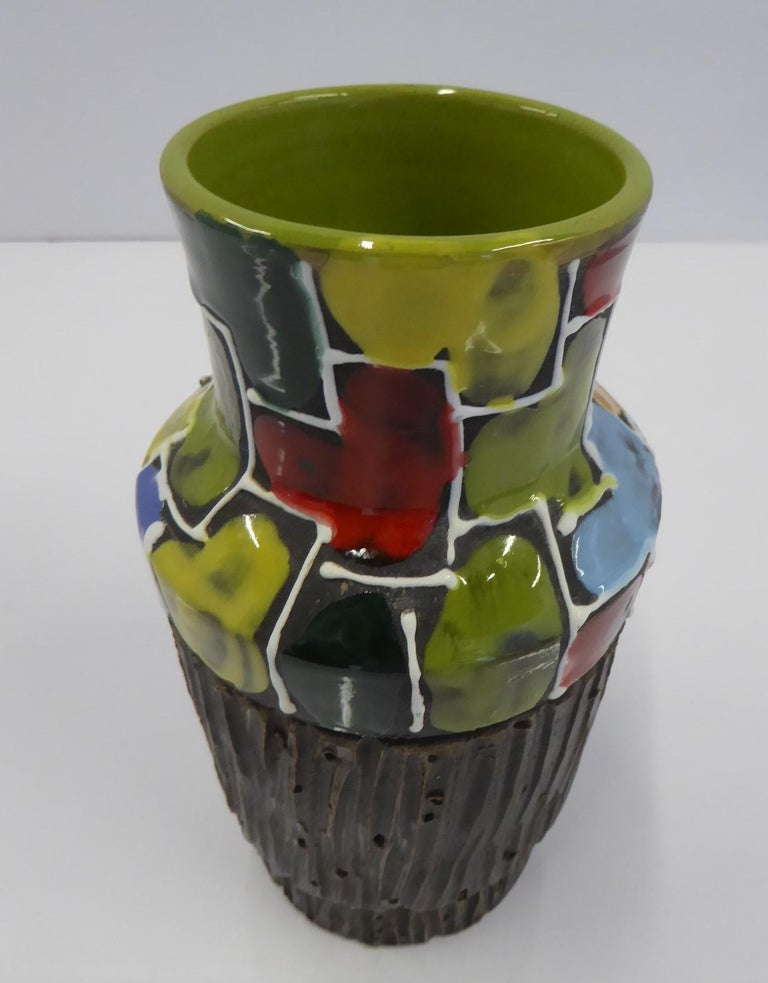 Modern Italian Ceramic Vase by Fratelli Fanciullacci Bitossi, 1960s For Sale 2