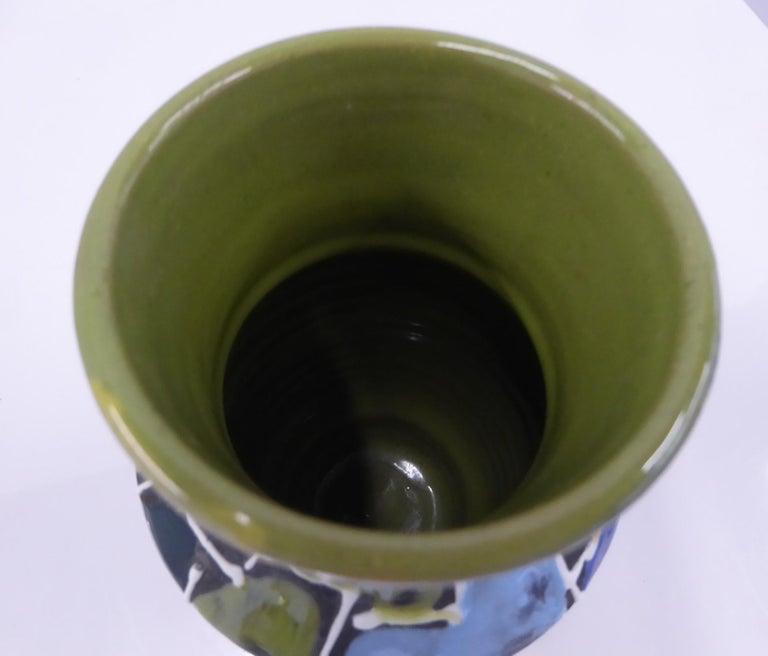 Modern Italian Ceramic Vase by Fratelli Fanciullacci Bitossi, 1960s For Sale 3