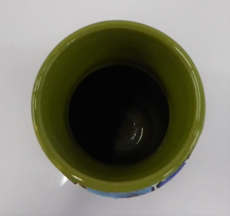 Modern Italian Ceramic Vase by Fratelli Fanciullacci Bitossi, 1960s For Sale 4