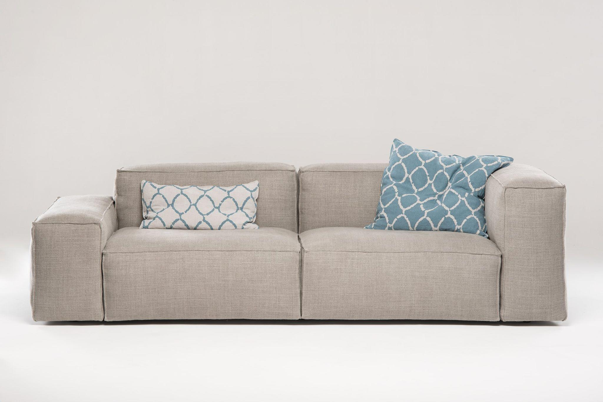 Modern Italian Designer Sofa Tailor Made For Sale at 1stdibs