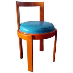 Modern Italian Lacquered Bentwood Chair Offered by La Porte