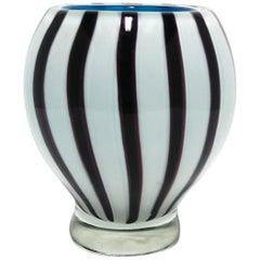 Modern Italian Murano Art Glass Vase