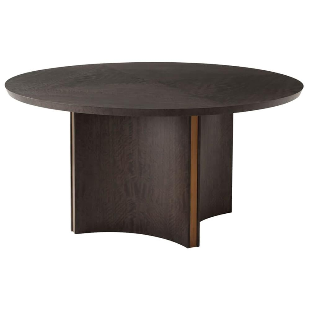 Modern Italian Round Dining Table